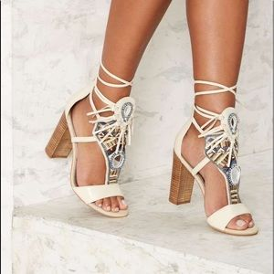 Sam Edelman Yvette Sandal in Bone